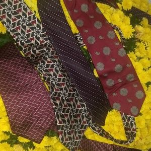 Bundle of 4 mens ties